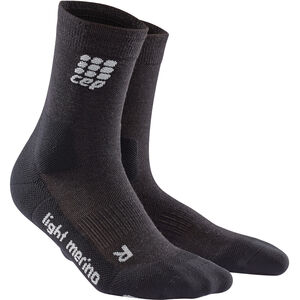 cep Dynamic+ Outdoor Light Merino Mid-Cut Socken Damen lava stone lava stone