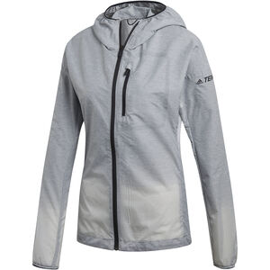 adidas TERREX Agravic Windweave Jacket Damen grey three/white grey three/white