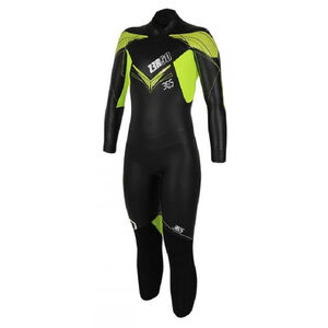 Z3R0D 365 Train Wetsuit Damen black/fluo black/fluo