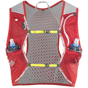 CamelBak Nano 17 Trinkrucksack Weste with Quick Stow Flask crimson red/lime punch crimson red/lime punch
