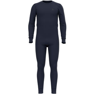 Odlo Active Warm ST Set Herren diving navy diving navy