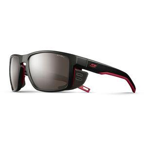 Julbo Shield Alti Arc 4 Sunglasses black/red/red-brown flash silver black/red/red-brown flash silver