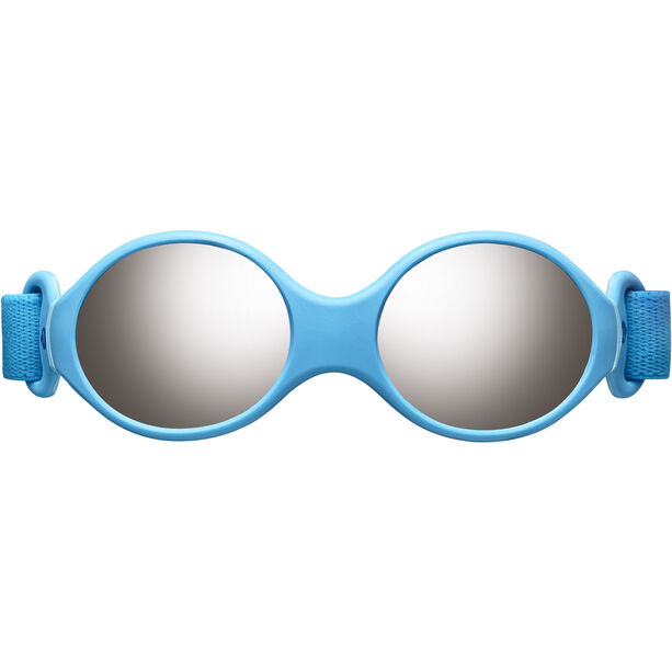 Julbo Loop S Spectron 4 Sonnenbrille Kinder blue turquoise/light blue/grey flash silver