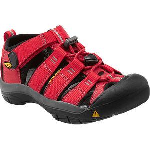 Keen Newport H2 Sandals Kinder Ribbon Red/Gargoyle Ribbon Red/Gargoyle