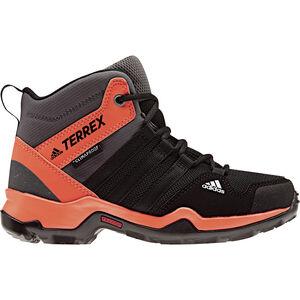 adidas TERREX AX2R ClimaProof Outdoor Mid-Shoes Kinder core black/core black/hi-res orange core black/core black/hi-res orange