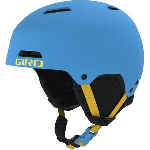 Giro Crüe Helm Kinder matte shock blue matte shock blue