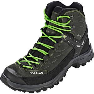 SALEWA Hike Trainer GTX Mid-Cut Schuhe Herren black out/green black out/green