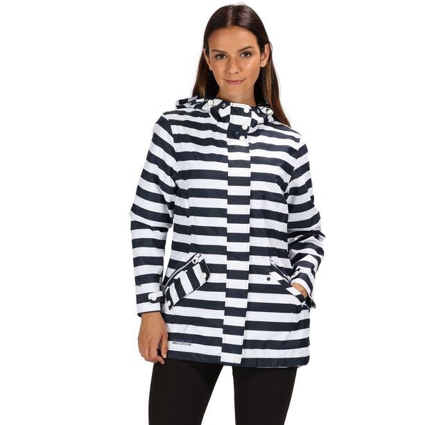 Regatta Basilia Jacket Damen navy stripe