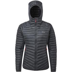 Rab Cirrus Flex Hoodie Jacket Damen steel/steel steel/steel