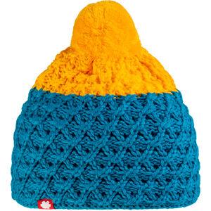 Ocun Macumba Pompom Mütze yellow/blue yellow/blue