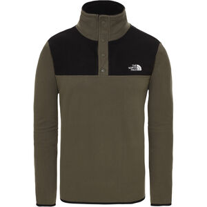 The North Face Tka Glacier Pullover mit Druckknopfleiste Herren new taupe green/tnf black new taupe green/tnf black
