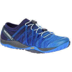 Merrell Trail Glove 4 Knit Shoes Damen blue sport blue sport