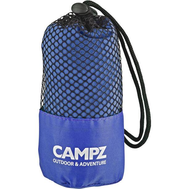 CAMPZ Mikrofaser Handtuch 80x150cm blau