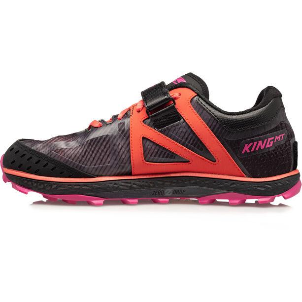 Altra King MT 2 Laufschuhe Damen black/coral/pink