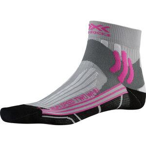X-Socks Run Speed Two Socks Damen pearl grey /opal black pearl grey /opal black