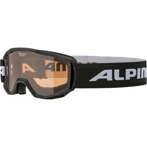 Alpina Piney Brille Kinder black/orange black/orange