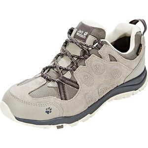 Jack Wolfskin Rocksand Texapore Low Shoes Damen siltstone siltstone