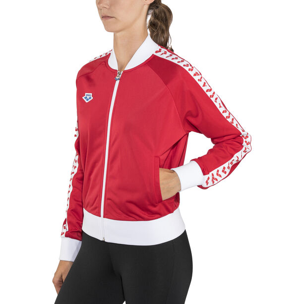 arena Relax IV Team Jacke Damen red-white-red