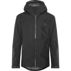 Black Diamond Liquid Point Shell Jacket Herren black black