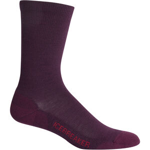 Icebreaker Lifestyle Light Crew Socks Damen velvet velvet
