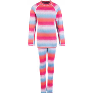 Reima Taival Thermal Baselayer Set Kinder candy pink candy pink