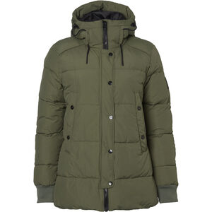 North Bend Puff Jacke Damen green utility green utility