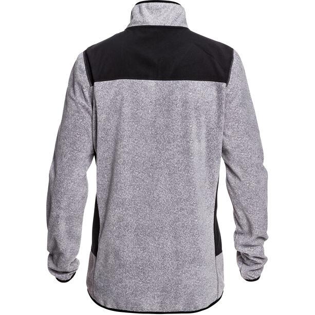 Quiksilver Aker HZ Fleece Hoodie Herren grey_ripstop texture