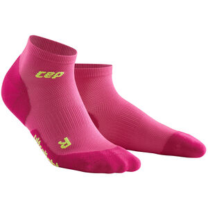 cep Dynamic+ Ultralight Low-Cut Socken Damen electric pink/green electric pink/green
