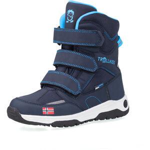 TROLLKIDS Lofoten Winterstiefel Kinder navy/medium blue navy/medium blue