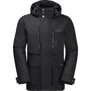 Jack Wolfskin Bridgeport Bay Jacket Herren black black