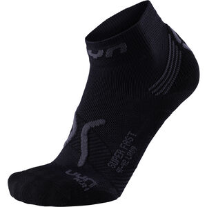 UYN Run Super Fast Socks Damen black/anthracite black/anthracite
