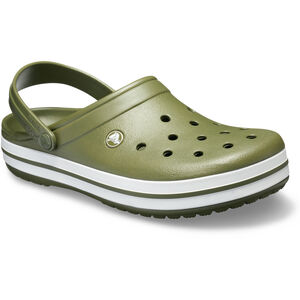 Crocs Crocband Clogs army green/white army green/white