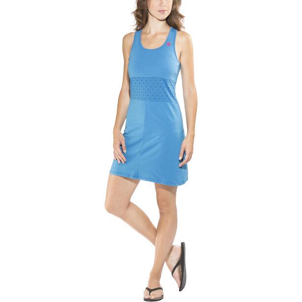 E9 Andy Solid Dress Damen cobalt blue