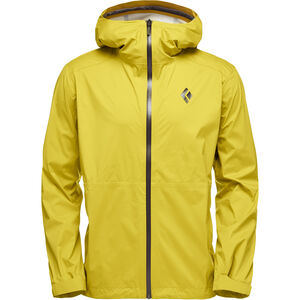 Black Diamond Stormline Stretch Rain Shell Jacket Herren sulphur sulphur