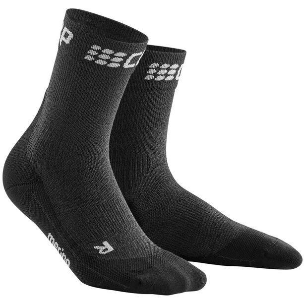 cep Winter Short Socks Damen grey/black