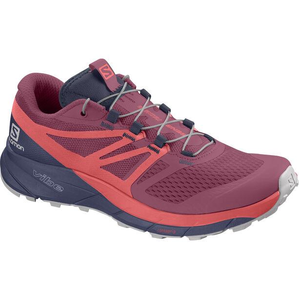 Salomon Sense Ride 2 Shoes Damen malaga/dubarry/crown blue
