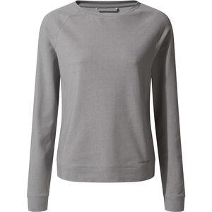 Craghoppers NosiLife Sydney Langarm Crew Shirt Damen soft grey marl soft grey marl