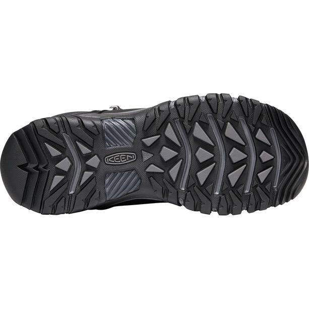 Keen Targhee Lace High Boots Herren black/raven