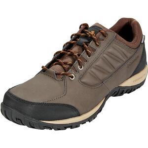 Columbia Ruckel Ridge WP Shoes Herren cordovan/canyon gold cordovan/canyon gold