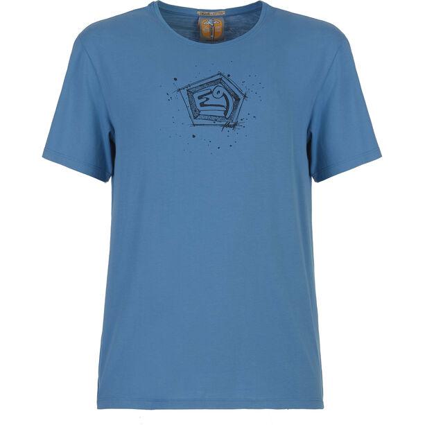 E9 Bug T-Shirt Herren cobalt-blue