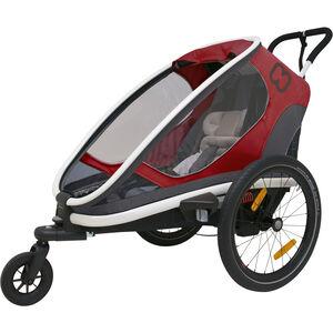 Hamax Outback One Bike Trailer red/grey/black red/grey/black
