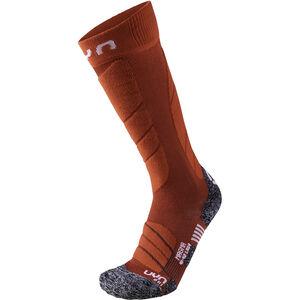 UYN Ski Magma Socks Damen dark red/red dark red/red