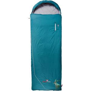 Grüezi-Bag Biopod Wool Goas Comfort Schlafsack dark petrol dark petrol