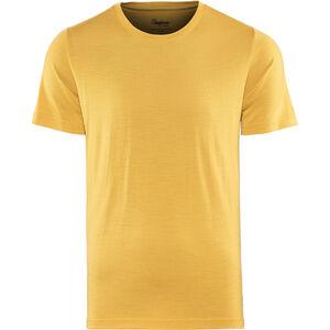 Bergans Oslo Wool Tee Herren mustard yellow mustard yellow