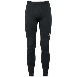 Odlo Suw Performance Warm Bottom Pants Herren black-odlo concrete grey black-odlo concrete grey