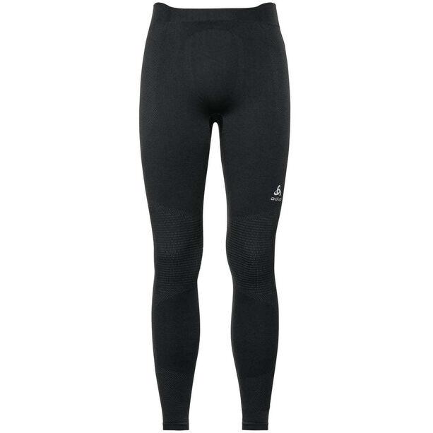 Odlo Suw Performance Warm Bottom Pants Herren black-odlo concrete grey