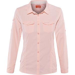 Craghoppers NosiLife Adventure II Longsleeved Shirt Damen seashell pink seashell pink