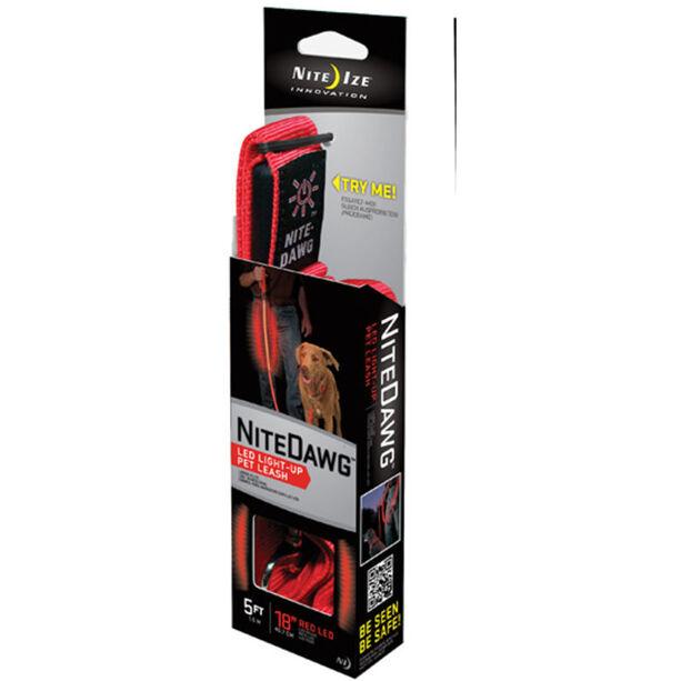 Nite Ize NiteDawg LED-Leash rot