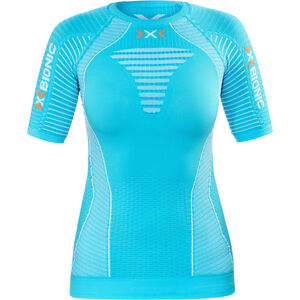 X-Bionic Effektor Running Power Shirt SS Damen turquoise/white turquoise/white