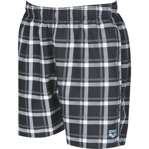 arena Devon Checks Boxers Herren black black